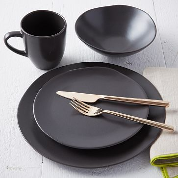 Best 25 Black Dinnerware Ideas On Pinterest Dining And