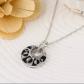 Round crystal u rhinestone necklace u earring nwt