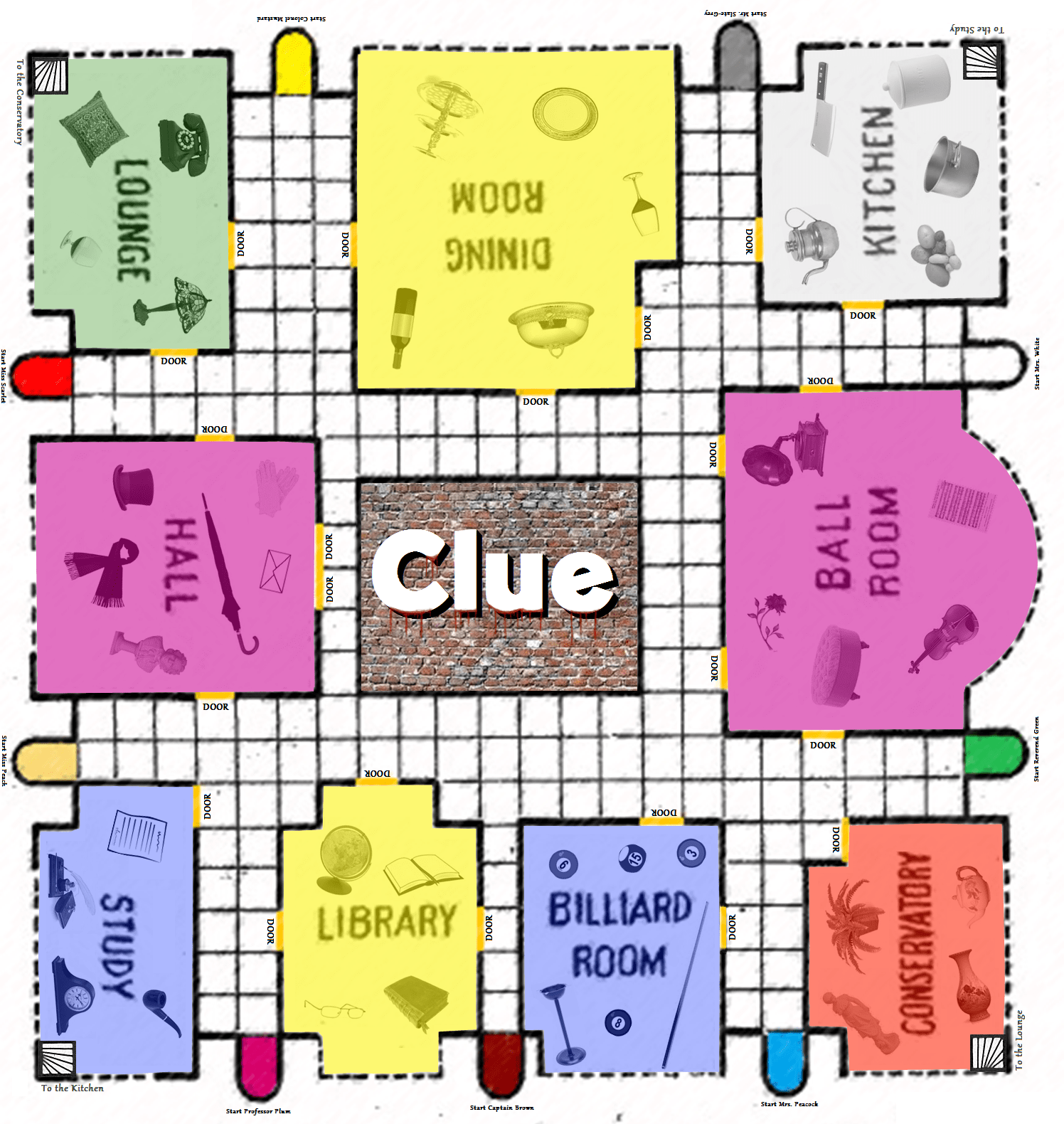 photo about Printable Clue Board Game Cards known as 5 Excellent Photos of Printable Clue Playing cards Clue Board Activity Incredibly hot