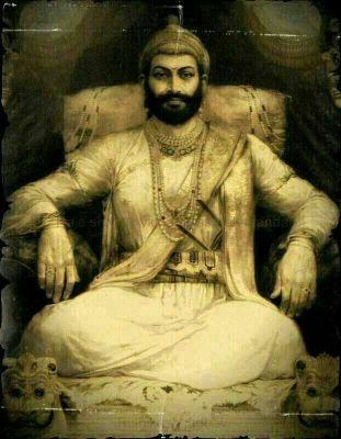 Image result for shivaji maharaj original painting