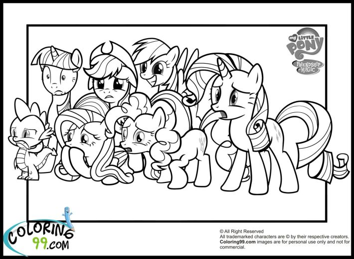 my little pony coloring pages | colour me | pinterest | pony