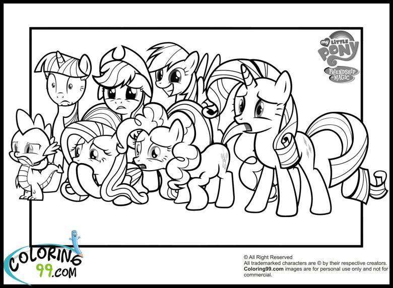 my little pony coloring pages | colour me | pinterest | pony
