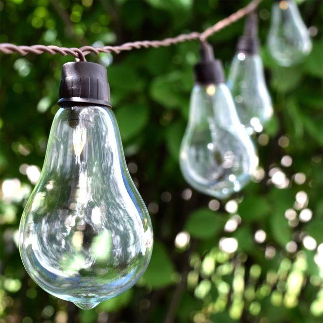 Led Solar Ed String Lights Backyard Lightingoutdoor