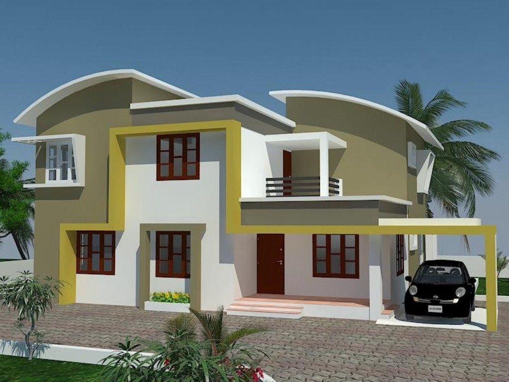 Beautiful Exterior House Paint Colors Ideas: Modern ... on Modern House Painting Ideas  id=14709
