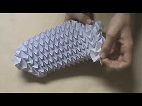 Paper Origami Magic Ball Instructions Origami Tutorial Lets Make It