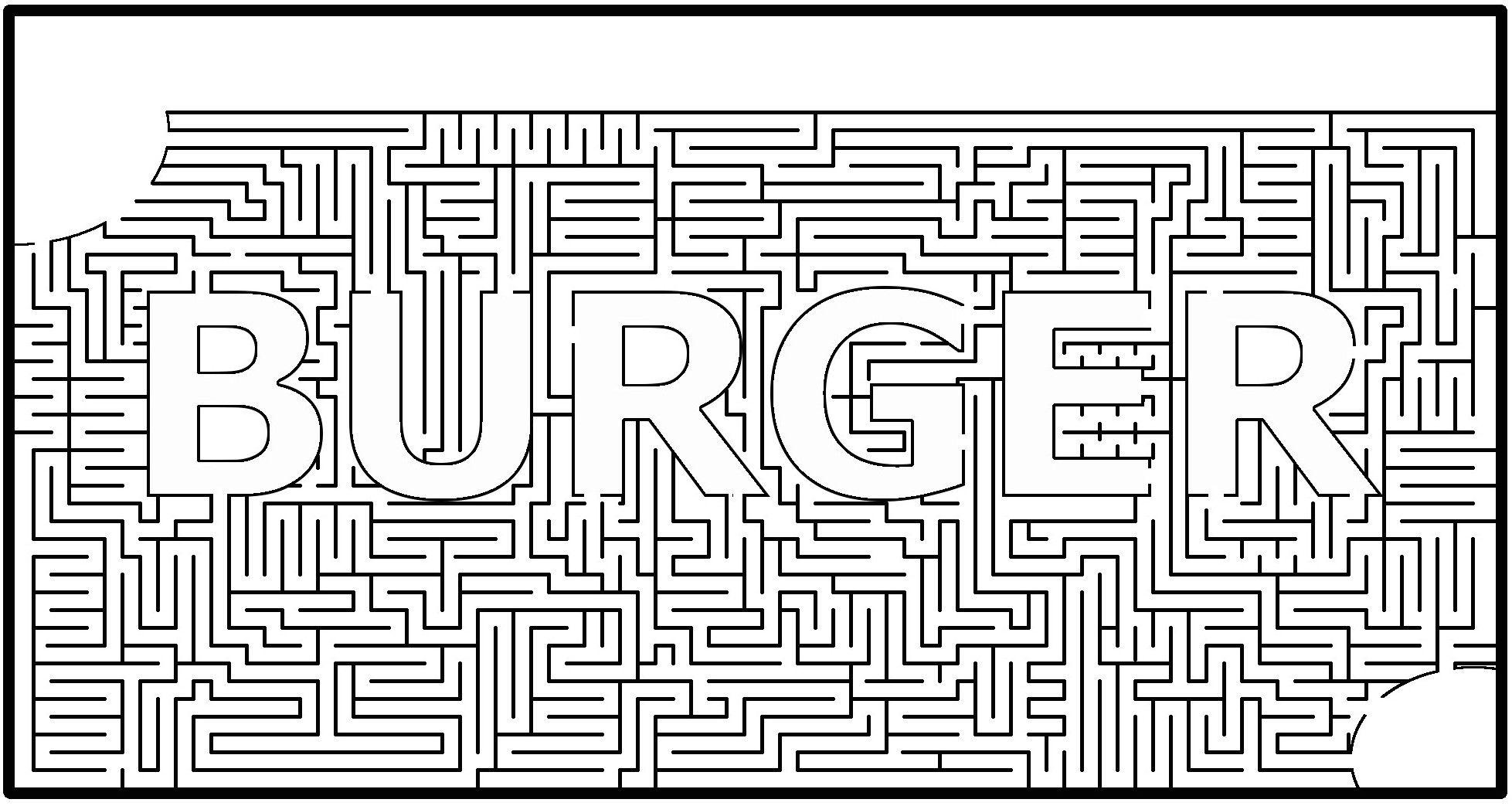 Logic Puzzle Maze Worksheet