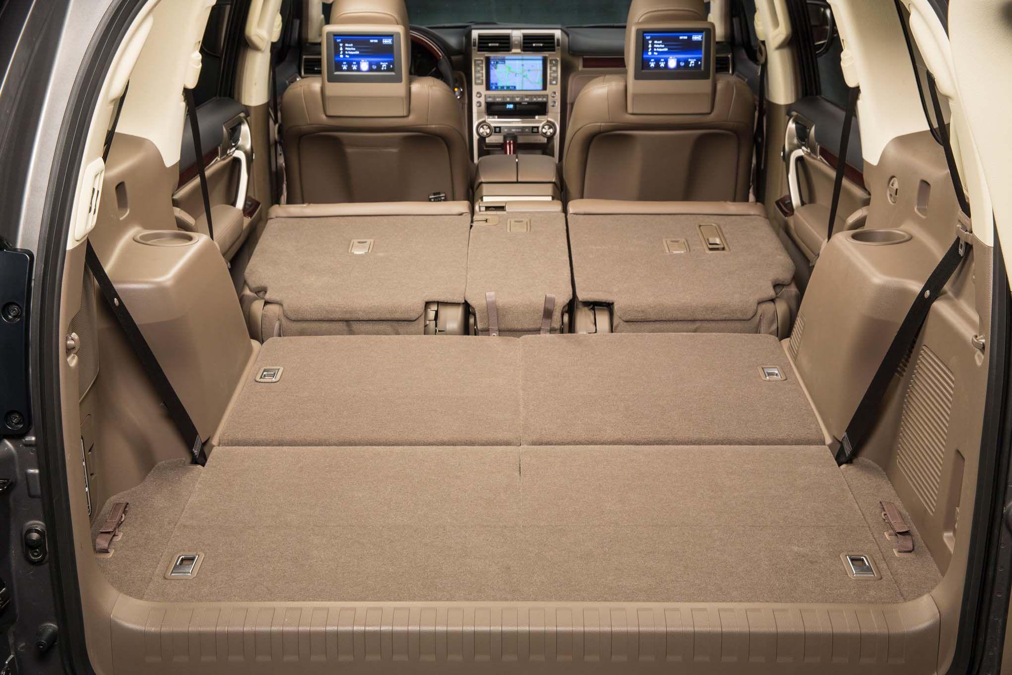 2019 Lexus GX460 Cargo space future cars pictures