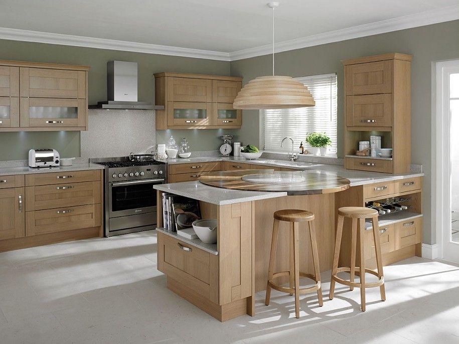 awesome light oak wooden kitchen designs light oak wooden kitchen designs with white gray wall on kitchen cabinets light wood id=46078