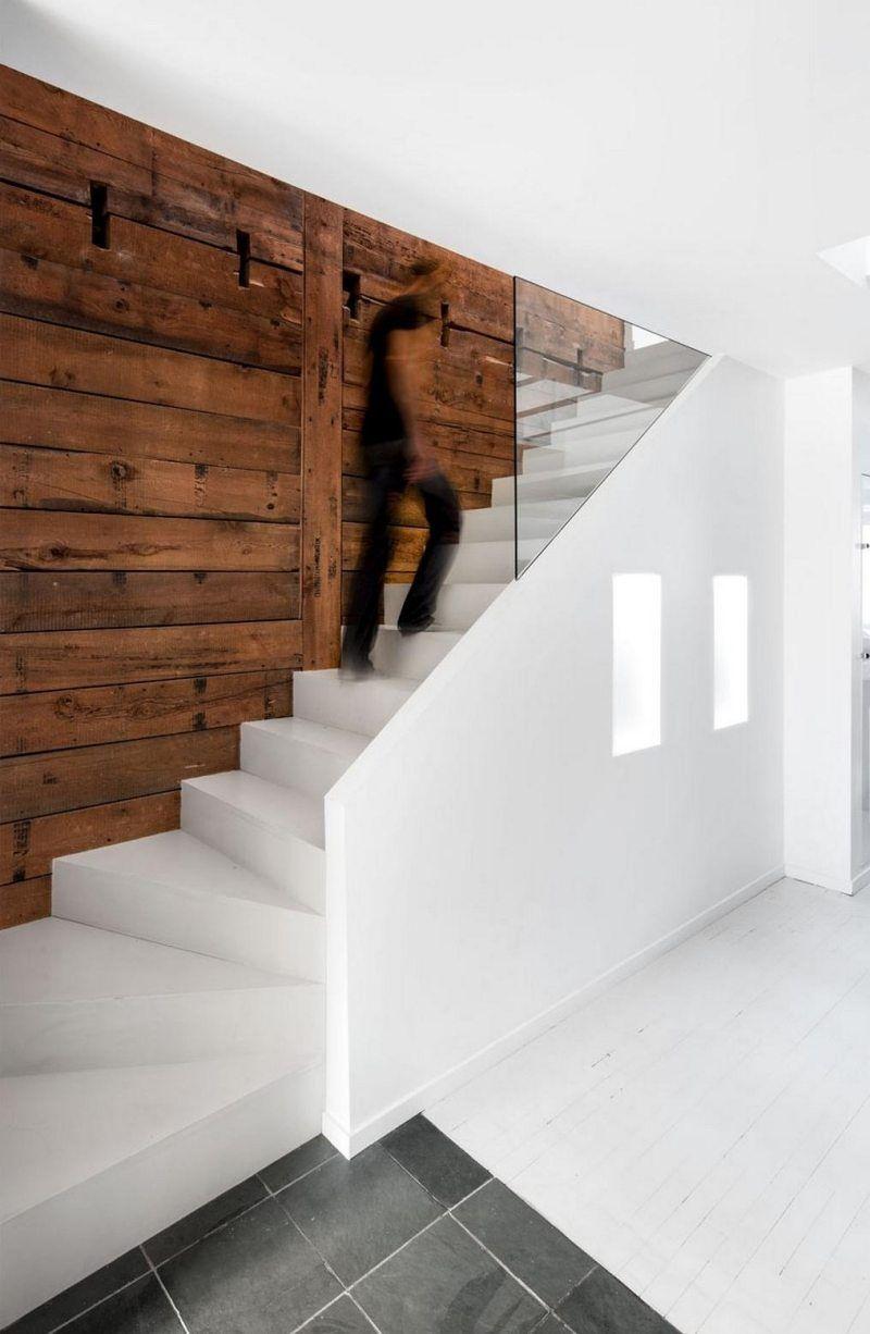 Escalier Droit Et Escalier Tournant En 100 Designs