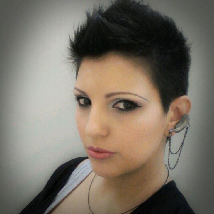 Short hair mohawk style Me Pinterest Short hair mohawk