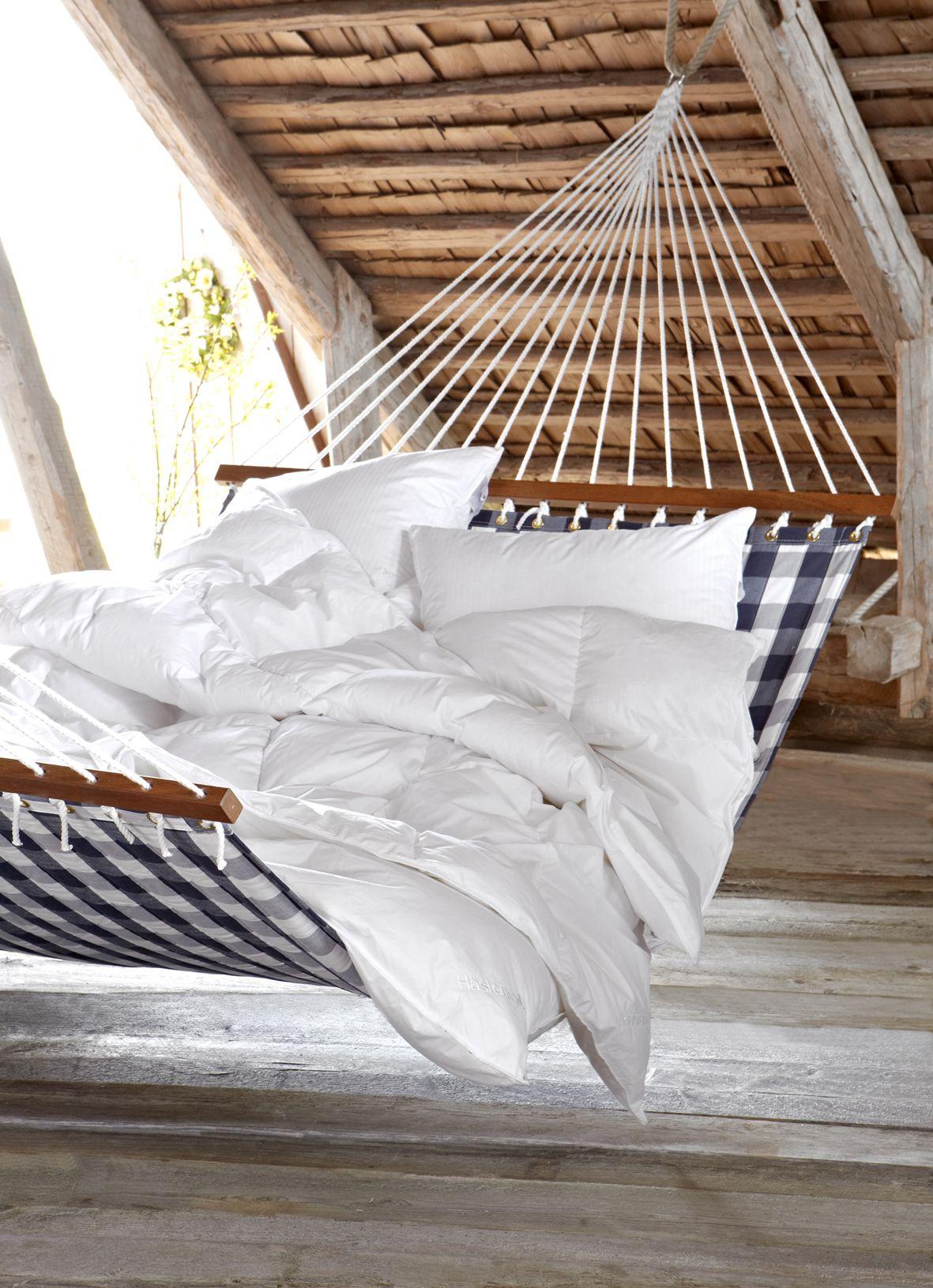 Hastens Sweden Hammock In Bedroom And Great Ceiling