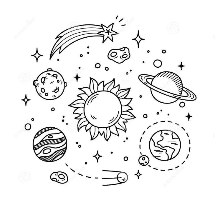 Moon doodles Tattoos Pinterest Doodles Moon and Bullet