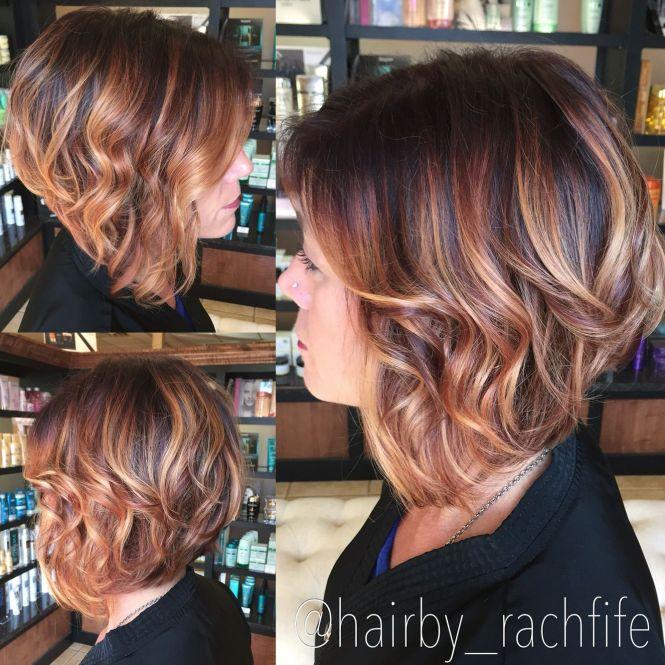 Caramel balayage highlights short hair the best hair 2017 80 balayage highlights ideas for every hair color motive pmusecretfo Gallery