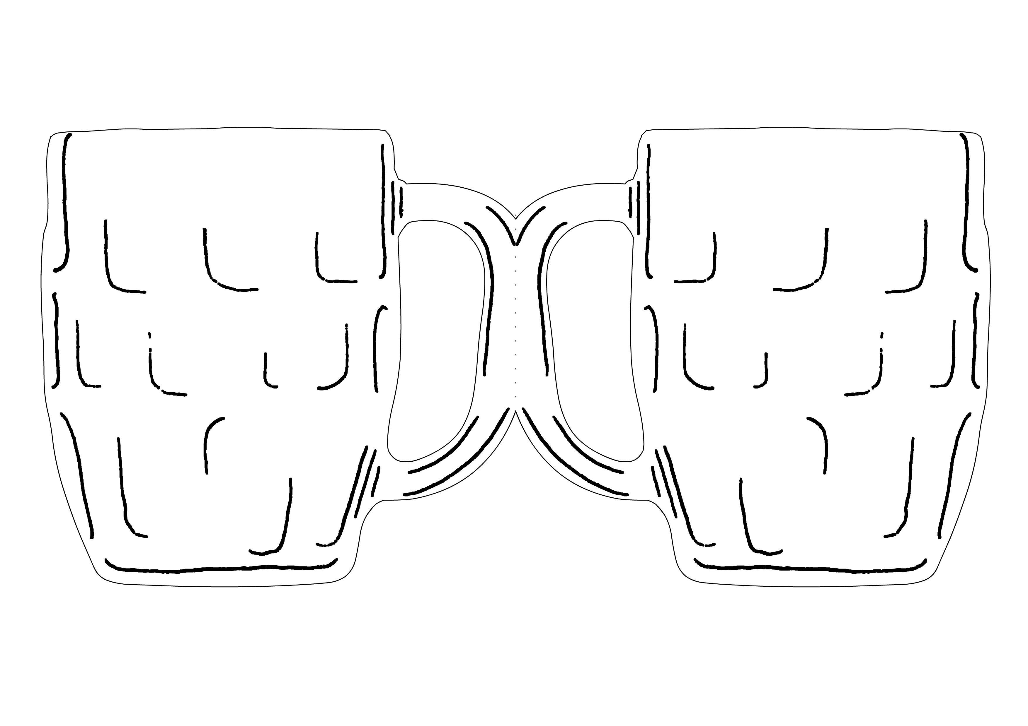 Beer Mug Card Templates