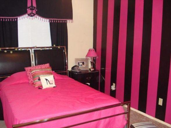 Pink Black Room Designs Ideas Design Decorating