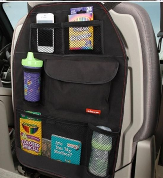 Backseat Organizer for Road Trips with Kids
