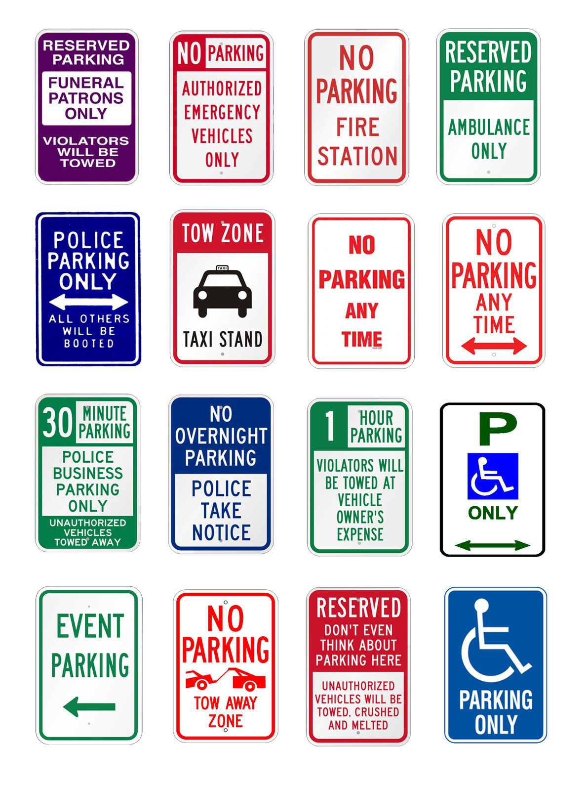 The 25 Best No Parking Signs Ideas