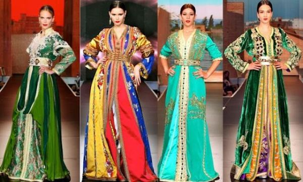 Traditional dress for women (and men) is called djallaba ...