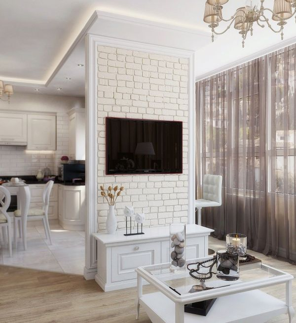 Гостиная в стиле неоклассики, Дизайн гостиной фото, Дизайн ...