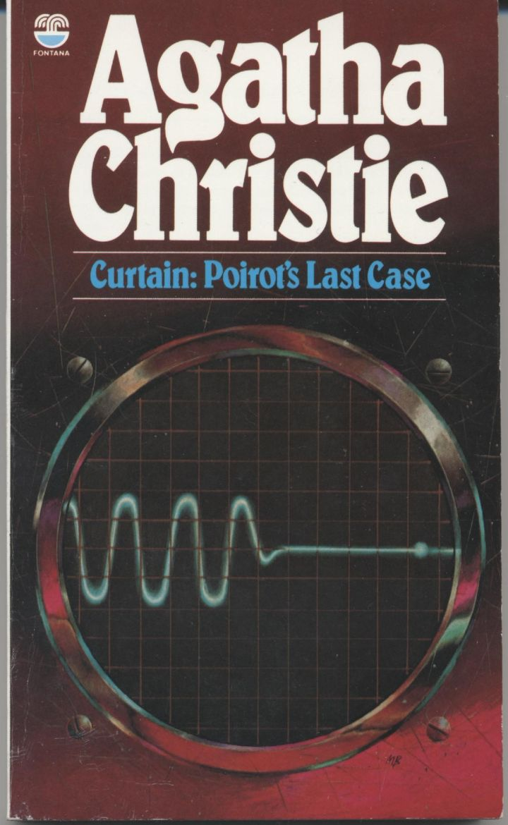 Agatha Christie Book Curtain The Only Mystery I Ve Read Once So