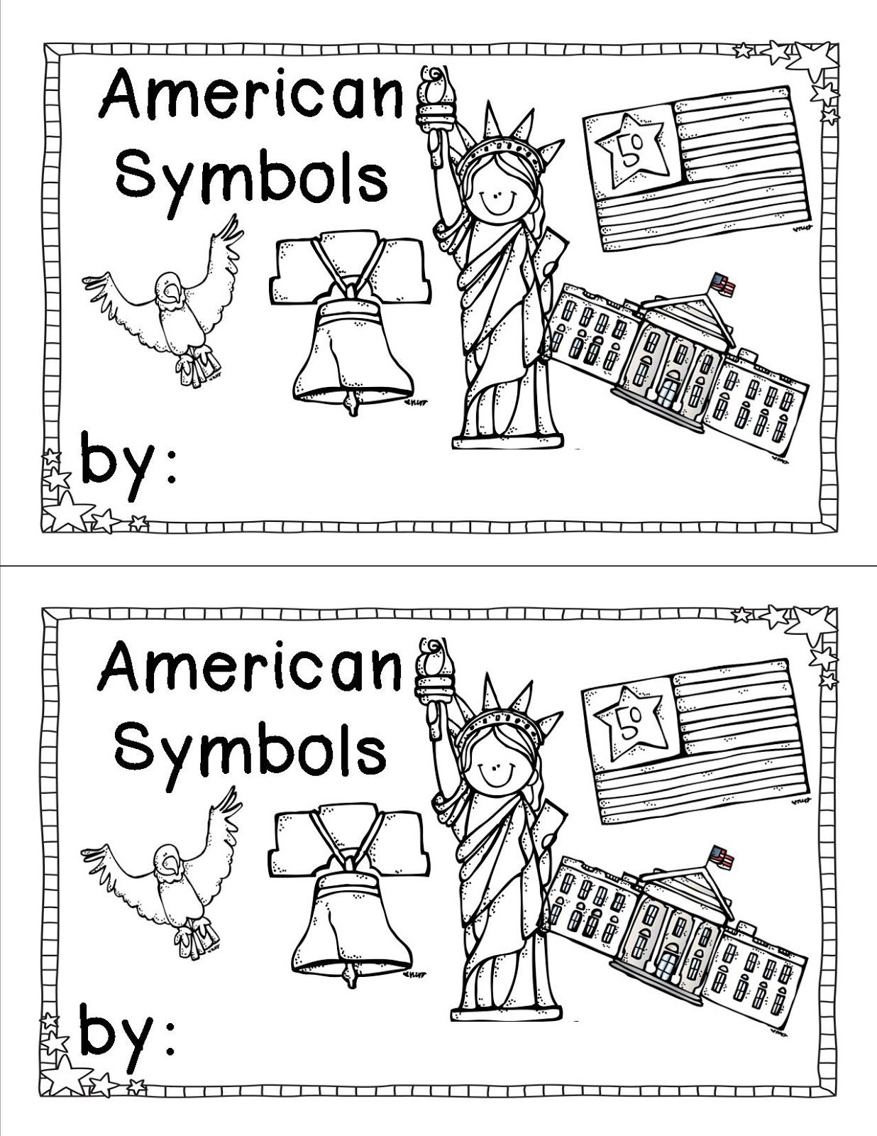 Common Core Ela Lessons American Symbols Fluency