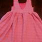 Pink seersucker dress girls size dress shapes seersucker