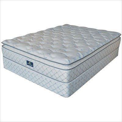 Bundle 51 Perfect Sleeper Wagner Super Pillow Top Mattress Size Twin By Serta