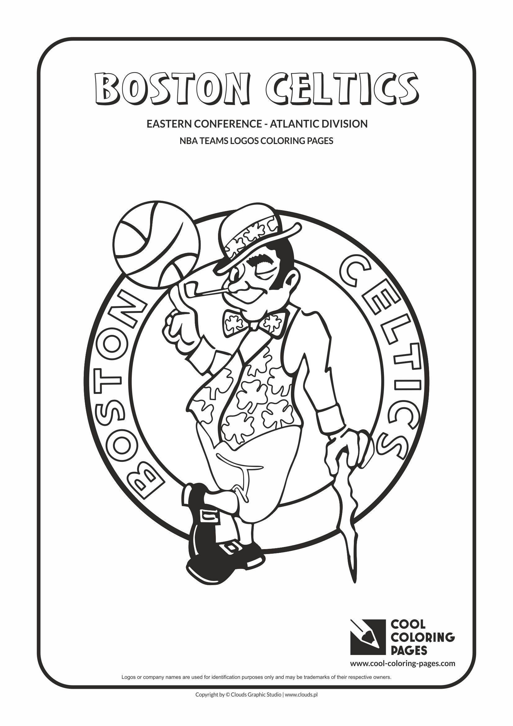 Boston Celtics Coloring Pages
