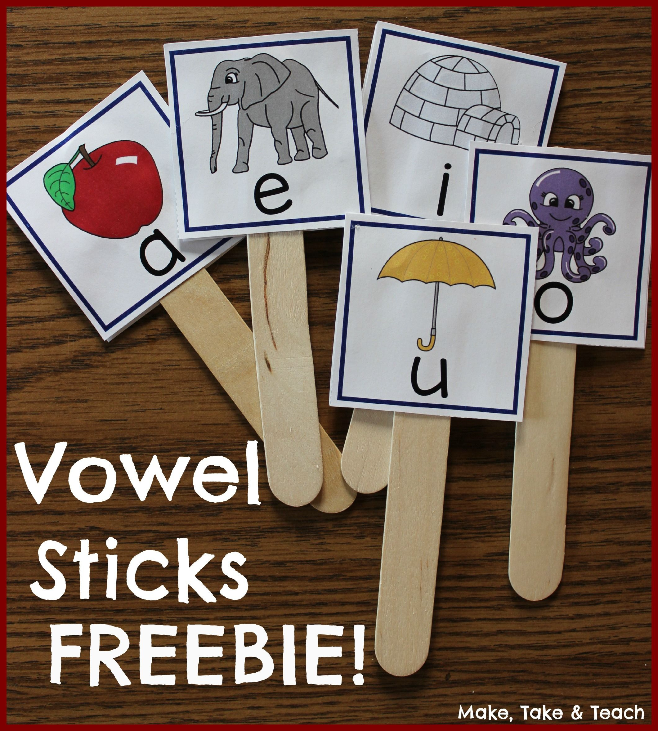 Great Activity To Help With Those Tricky Vowel Sounds