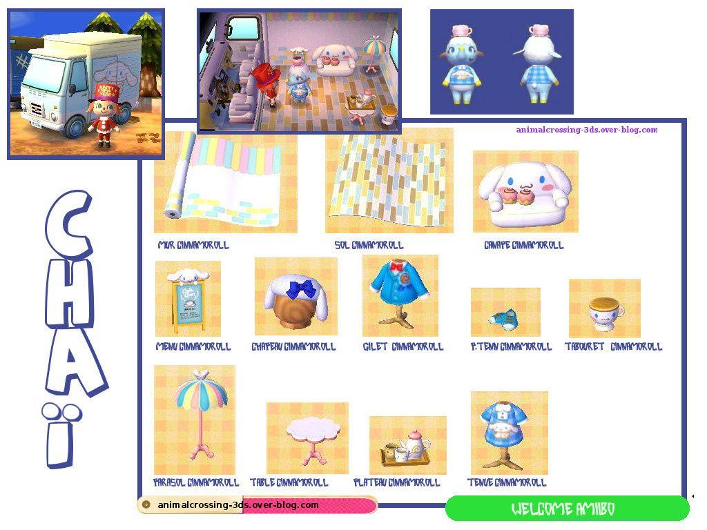 Chai Carte Sanrio 4 Animalcrossing 3ds Over Blog
