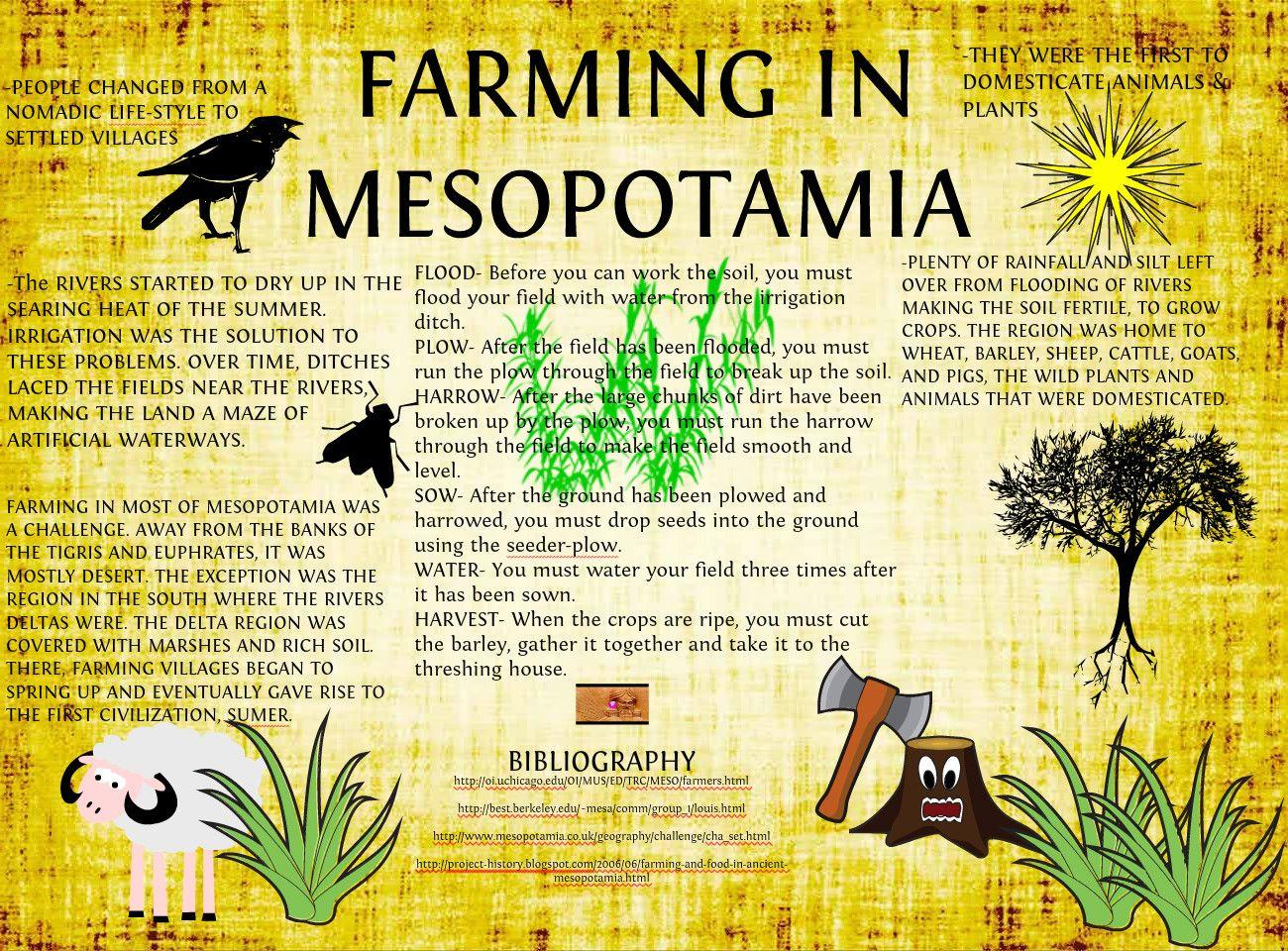 The Mesopotamian Farmer S Conundrum
