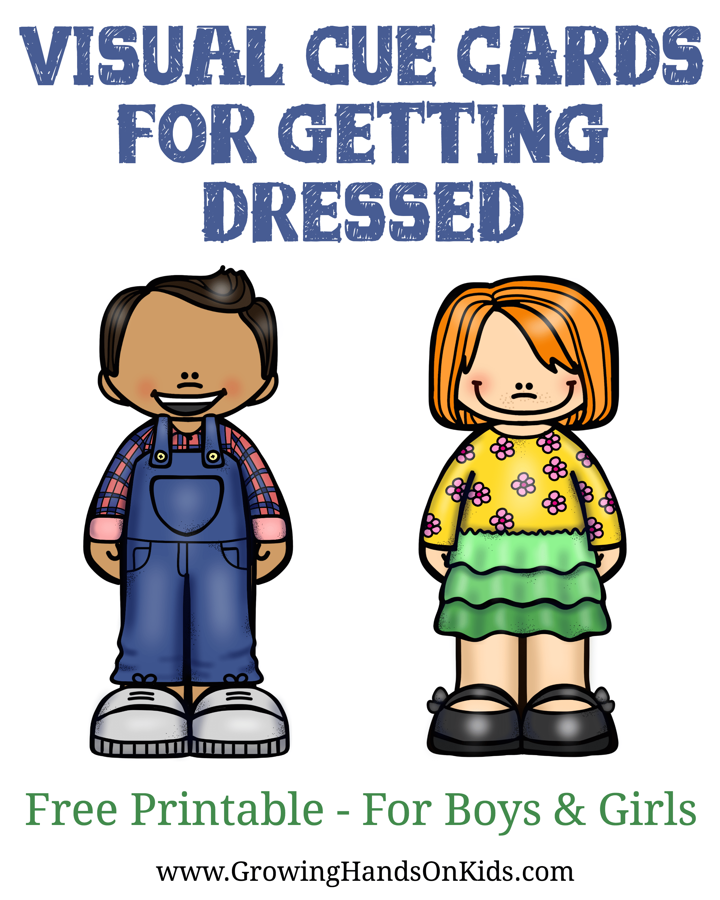 Improving Following Directions With Getting Dressed For Kids