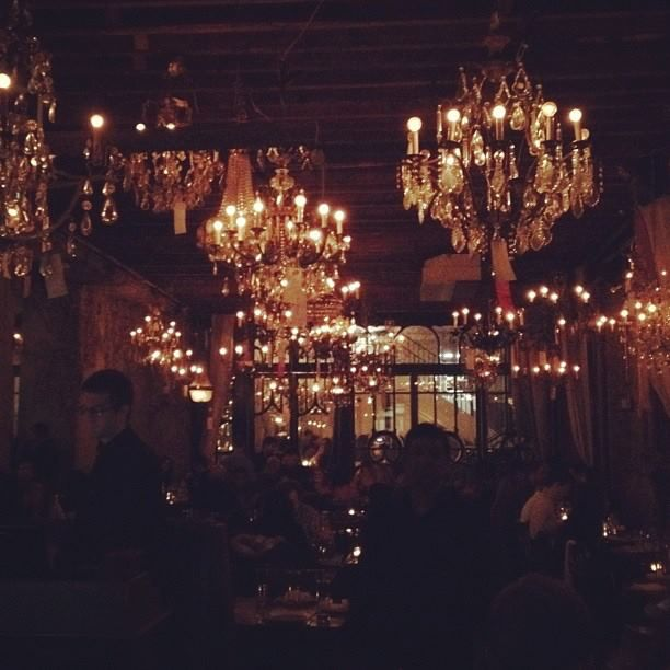 Chandeliers Hanging In Pipa Nyc