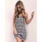 Check mate tie back dress dress casual lust and casual tie