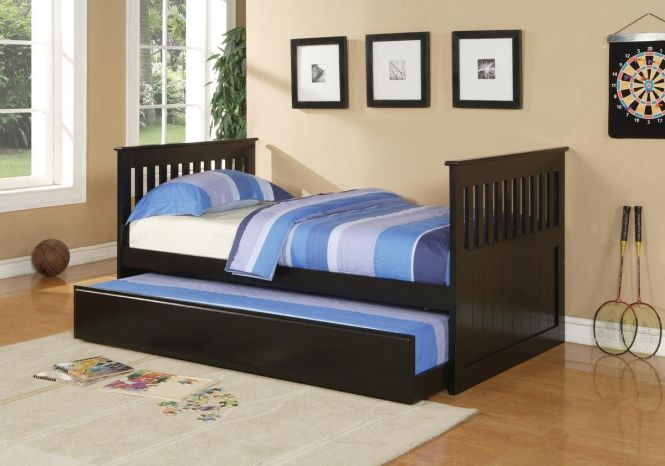 Black Trundle Bed Orange County Furniture Warehouse F9050 For When We Are All Home