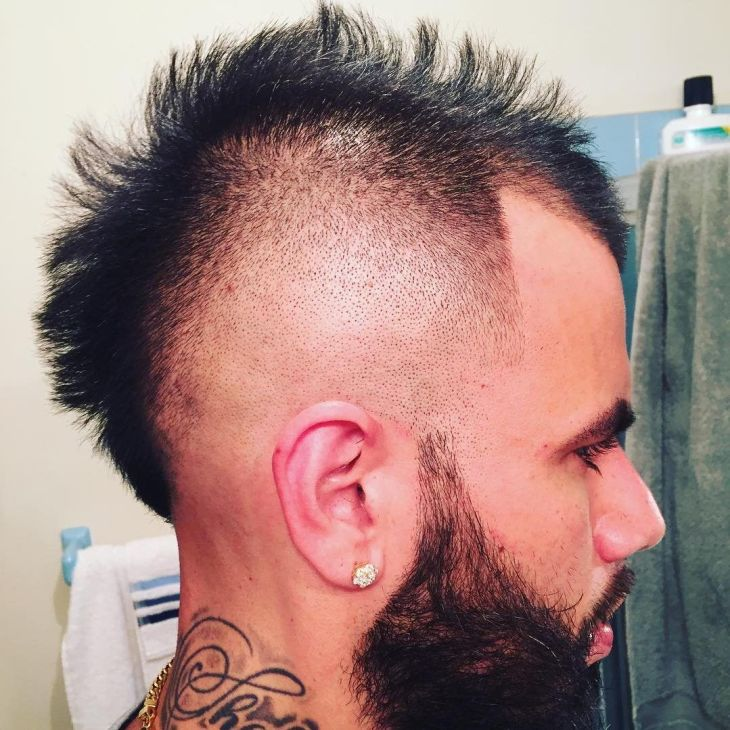 nice HighClass Mohawk Haircut Styles Make Your Daring Elegant