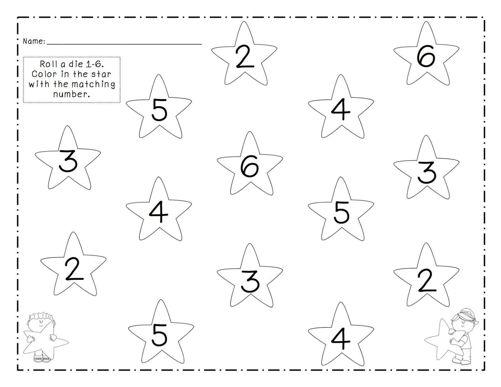 Roll Amp Color 1 6 Twinkle Twinkle Little Star