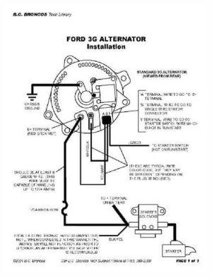1976 Ford Alternator Wiring Diagram  Wiring Diagram Blog