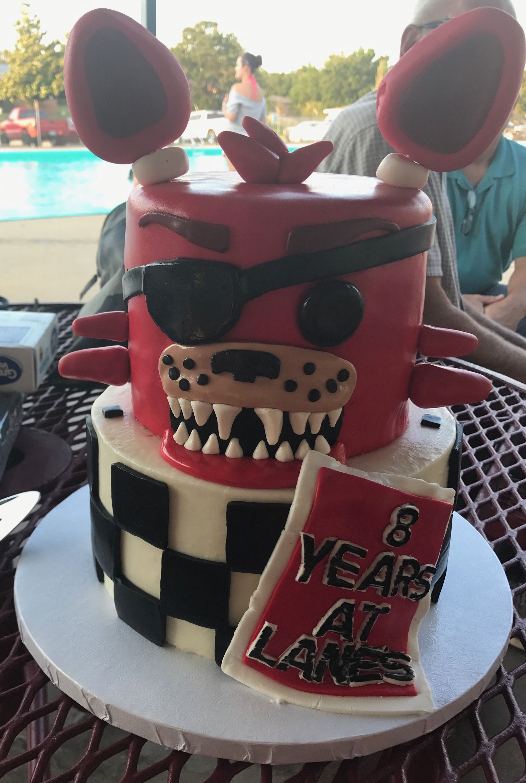 Five Nights At Freddie S Cake Birthday Cake Cake Boy