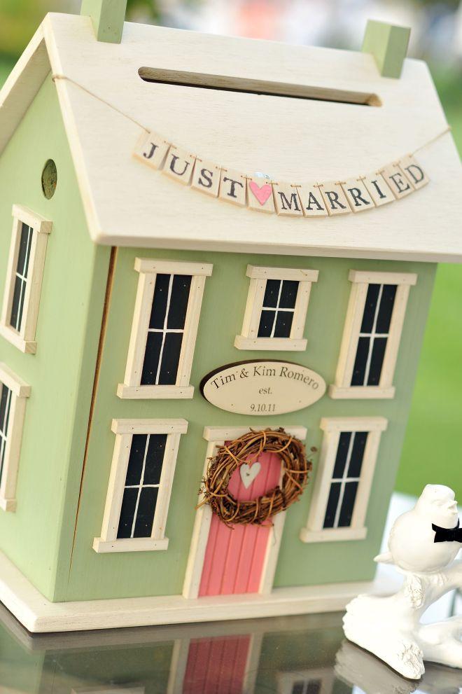 diy wedding card box wood