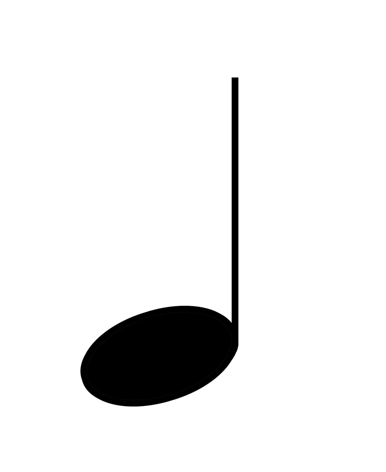 Quarter Note Clip Art