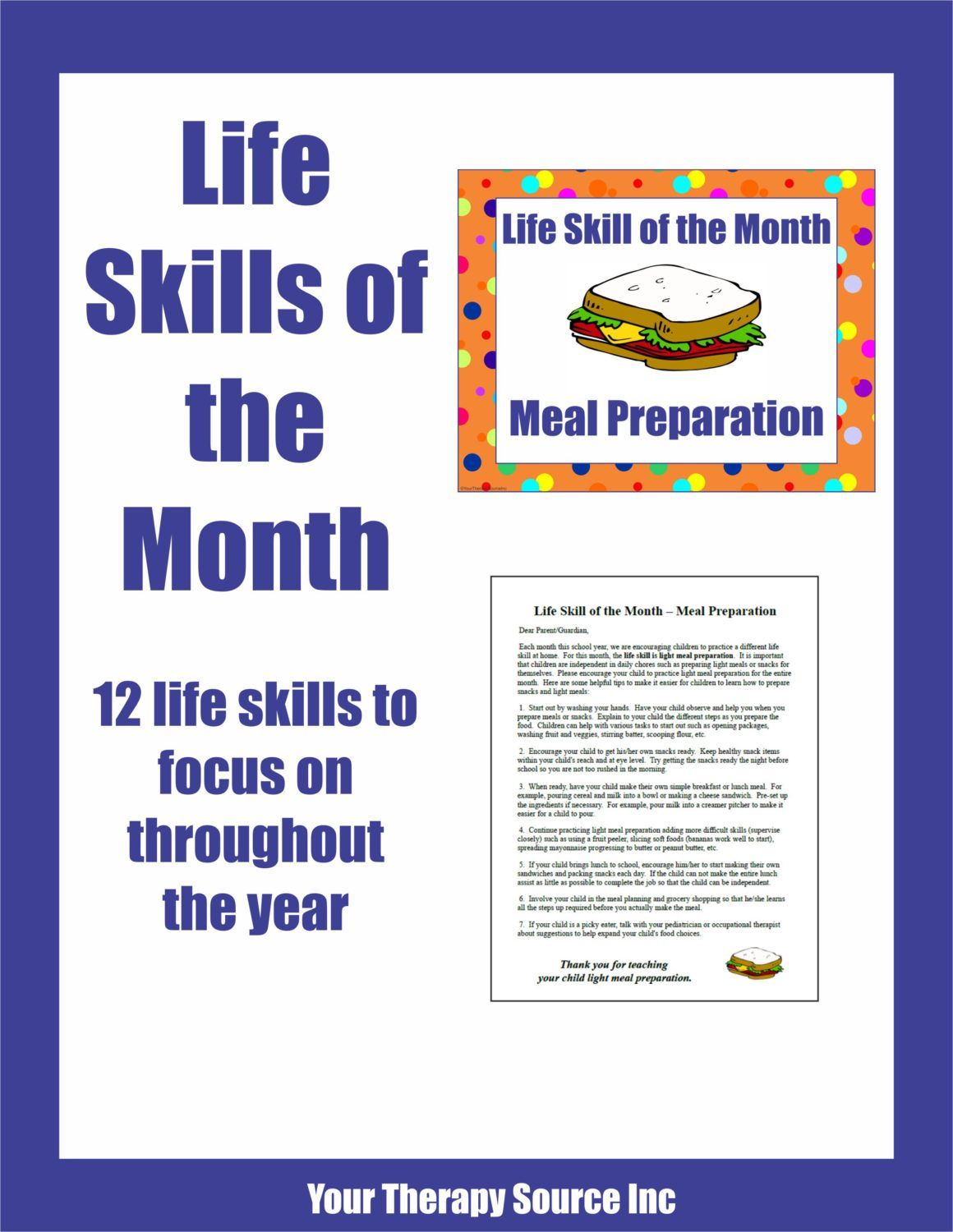 Life Skills Of The Month