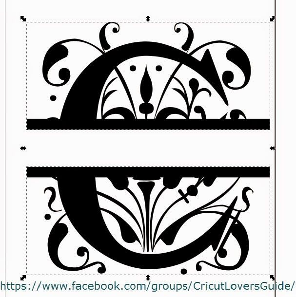 Download The Non-Crafty Crafter - Using Inkscape to create a Split ...