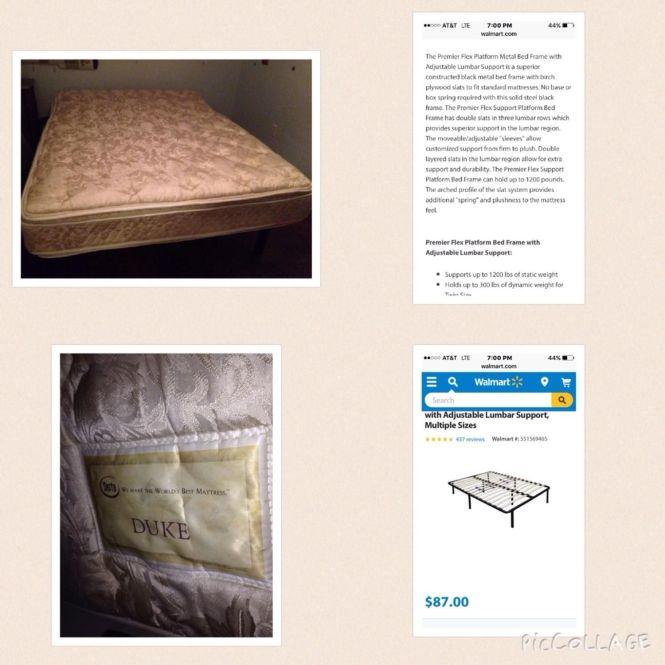 For Full Size Serta Pillow Top Mattress And Premier Flex Platform Bed Frame With Mattressbaton Rouge