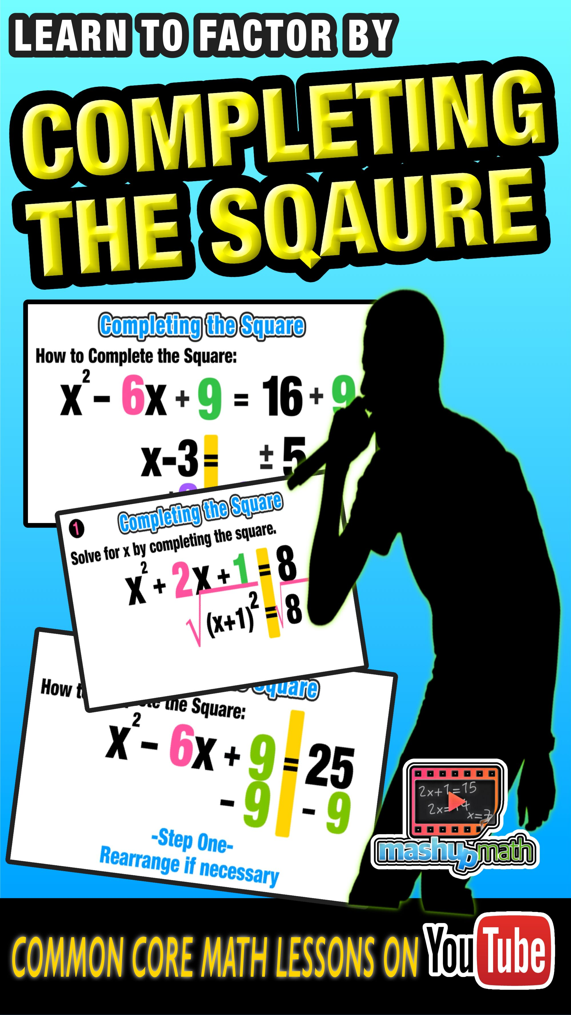 Our Animated Algebra Ii Lesson On Completing The Square