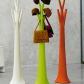 Tree is a coat rack made of coloured polyethylenethanks to its