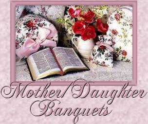 Mother/Daughter Banquet Themes | Mother Daughter Luncheon ...