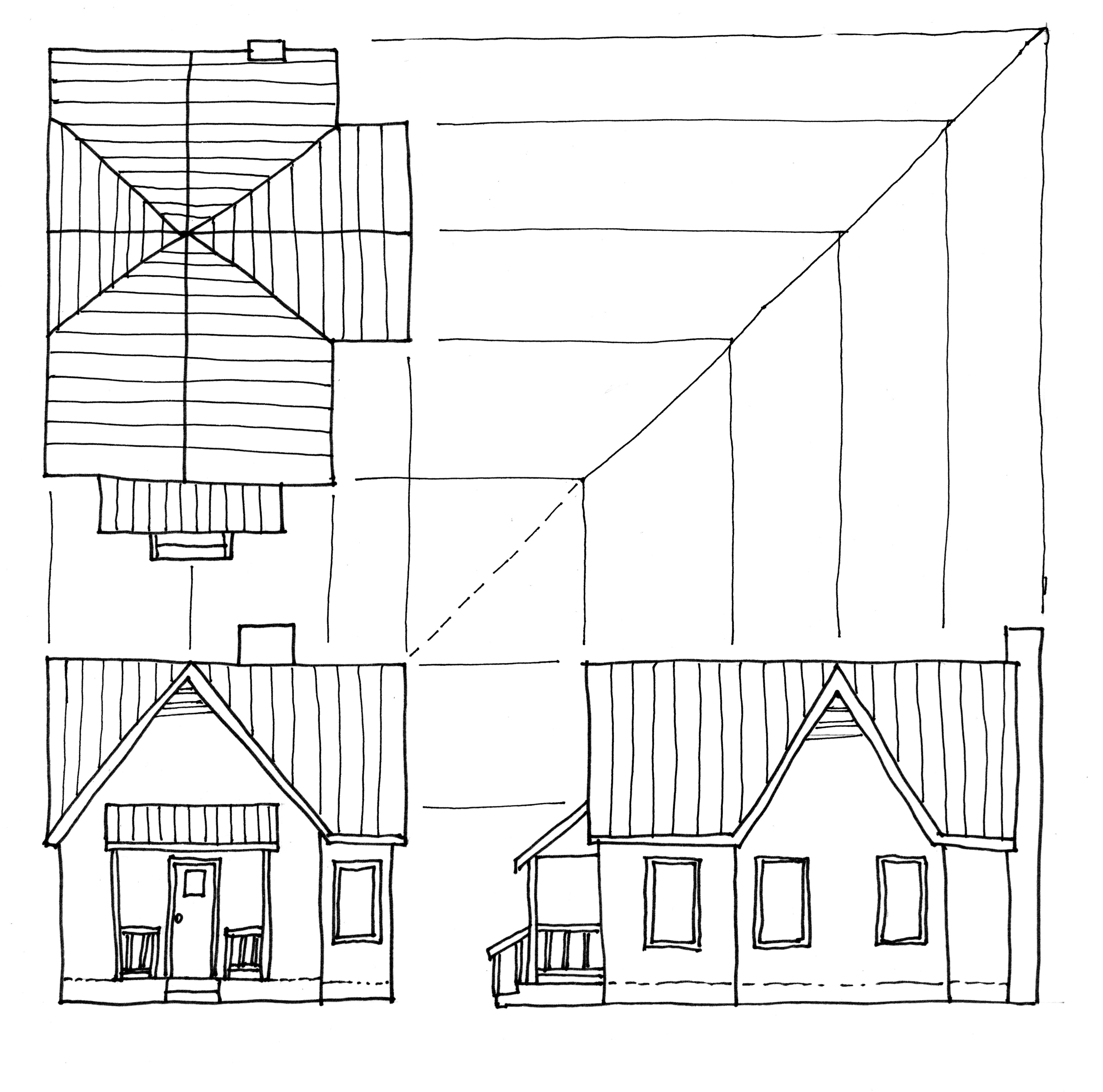 Studying Roof Plans 3