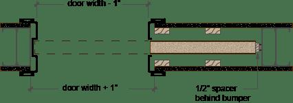 Pocket Door Trim Kit Plan Profile Decorazioni Casa