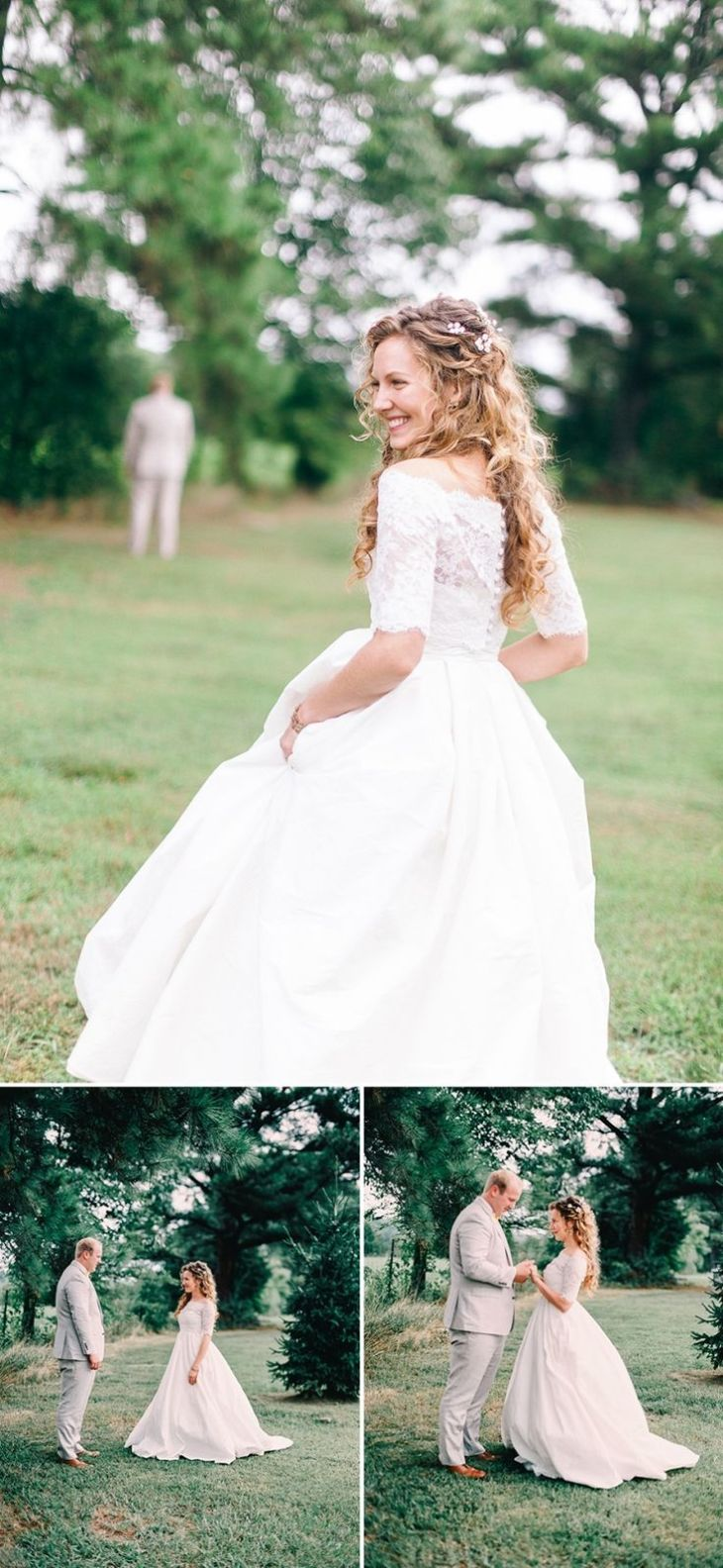 Featured on The Bridal Theory Our quaint country wedding